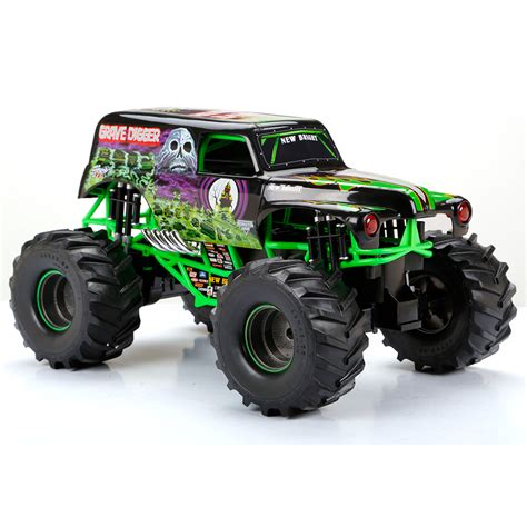wheels monster truck grave digger 100 pro line puts the u201cdigger 100 grave digger