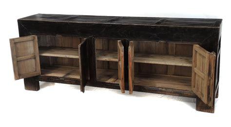 Large Black Sideboard Buffet Media Console Tv Cabinet Buffet Media Cabinet