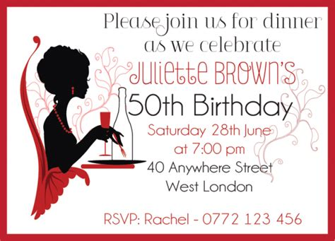 invitation template for birthday with dinner birthday dinner party invitation wording dolanpedia