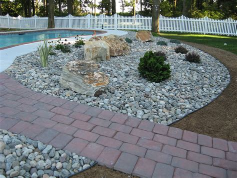 Pebbles And Rocks Garden Different Types Decorative Landscape Gravel Bistrodre Porch And Landscape Ideas