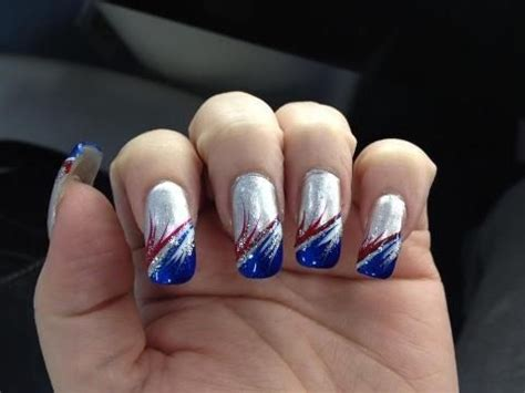 Patriots Nail Designs patriots nails new patriots nfl
