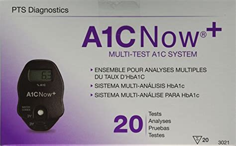 amazoncom hba1c test kit a1cnow hba1c blood monitor w sler 20 test kit