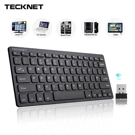 tutorial smart keyboard android tecknet 2 4ghz mini wireless keyboard for windows android