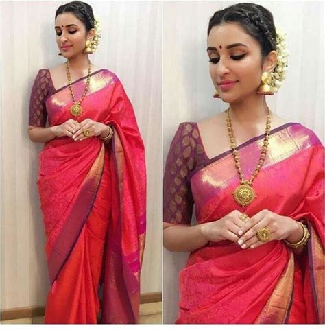 Plus Size Blouse For Saree by How To Wear Saree For Plus Size 16 Saree Tips For Curvy