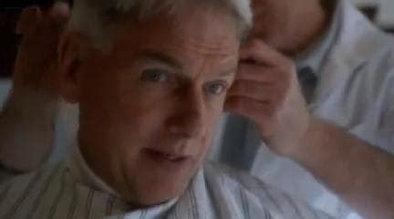 whats the gibbs haircut about in ncis ncis sneak peeks the test tv fanatic