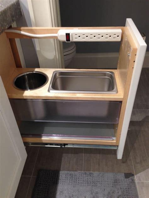 ideas bathroom vanity storage pinterest