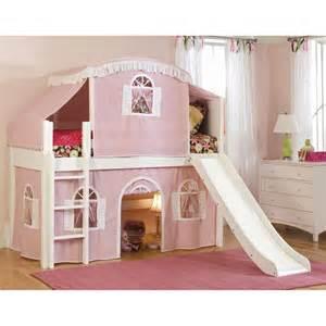 Bunk Bed Tent Only Cottage Premium Low Loft Tent Bed Bunk Beds Loft Beds At Hayneedle