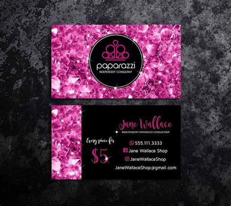 paparazzi accessories business card template best 25 paparazzi consultant ideas on