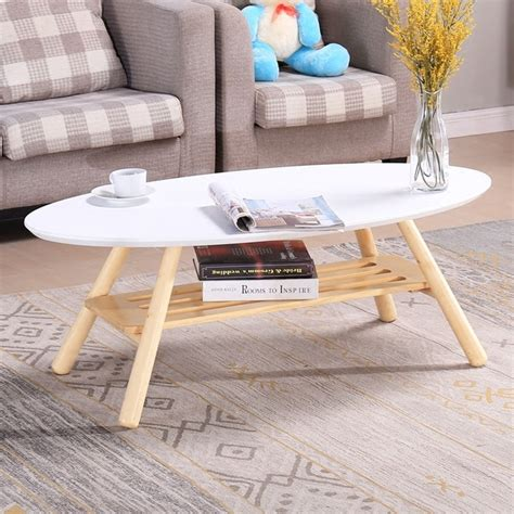 freight express furniture modern japanese living room furniture mid century modern oval wood center table living room