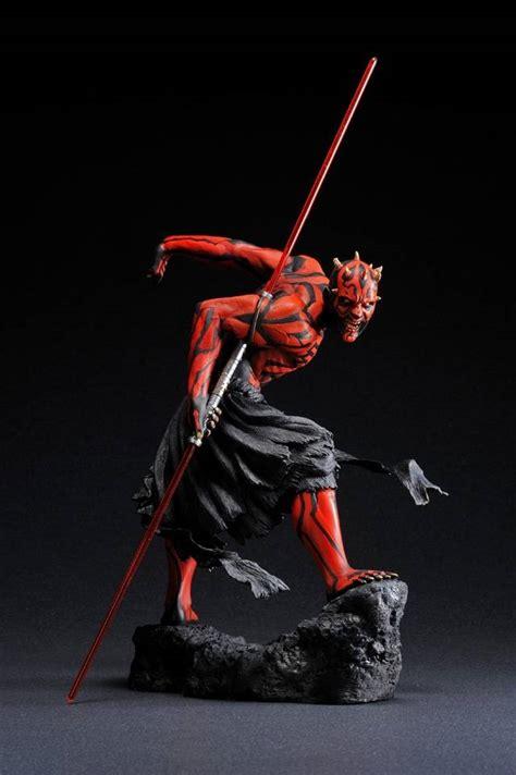 Set Size 2 7th Import kotobukiya wars artfx darth maul light up 1 7