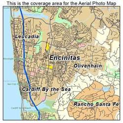 encinitas california map aerial photography map of encinitas ca california