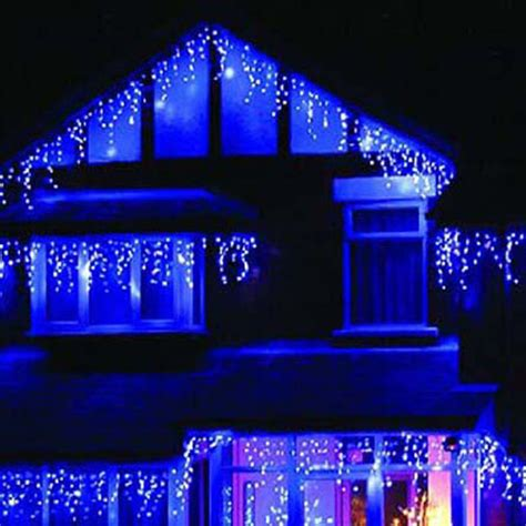 blue led lights guirlande lumineuse exterieur wedding birthday new year dress