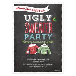 holiday invite ugly sweater party invitations amp cards on