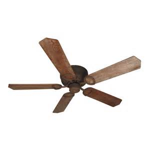 ceiling hugger fans without lights craftmade lighting pro universal hugger rustic iron
