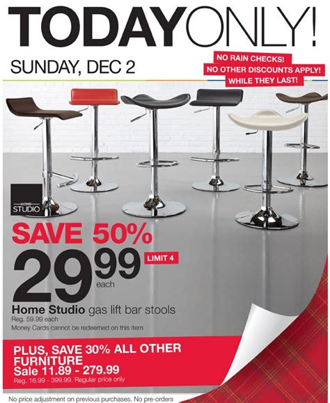 home outfitters bar stools 29 99 dec 2nd only