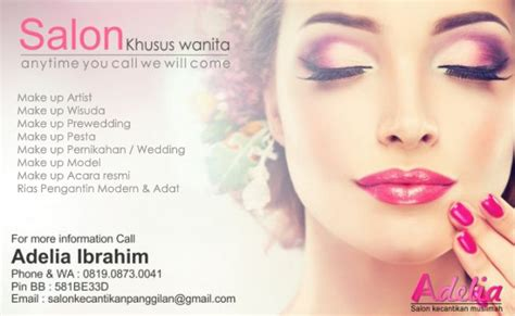 Make Up Dan Wedding Service jasa make up artist dan rias pengantin salon kecantikan