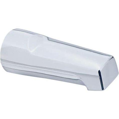 delta non diverter tub spout in chrome u1012 pk the home