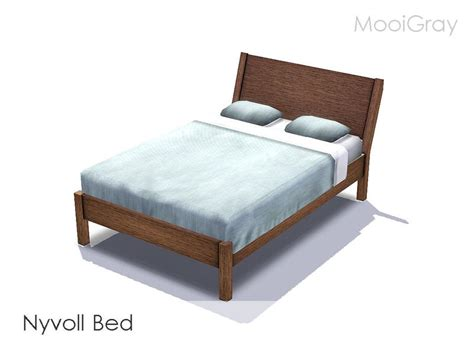 Nyvoll Bed by Mooigray S Nyvoll Inspired Bed