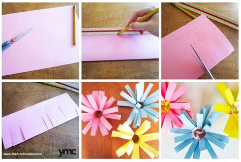 How To Make A Flower Out Of Construction Paper - 5 paper flowers crafts for s day that won t die