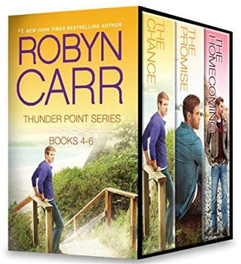 thunder books thunder point series books 4 6 robyncarr