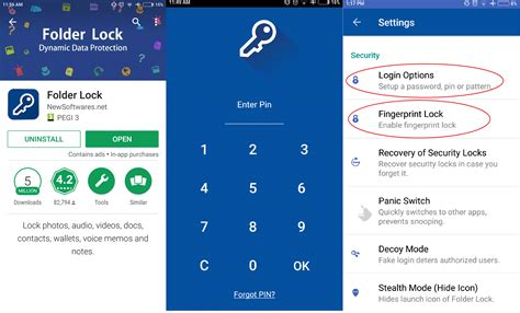 every pattern password how to hide photos and videos android and ios