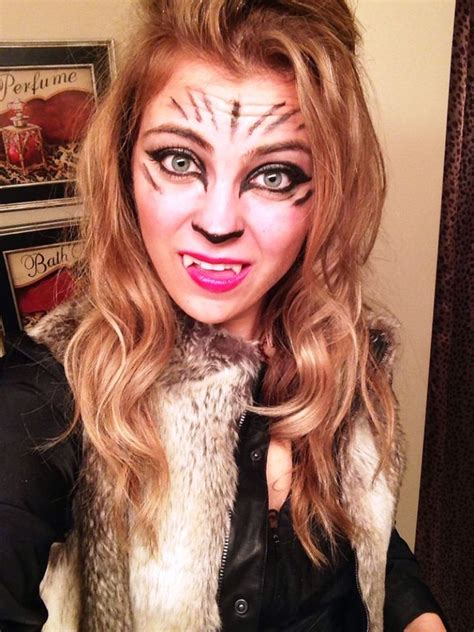 awesome  halloween wolf makeup ideas