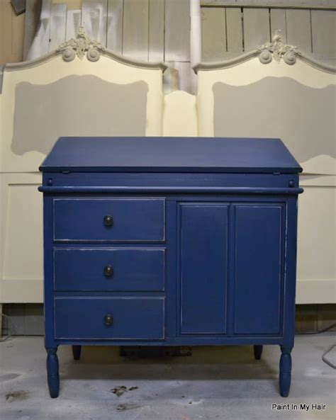 chalk paint napoleonic blue blue chalk paint painted furniture blue