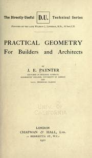 practical geometry for builders and architects classic reprint books practical geometry for builders and architects 1921
