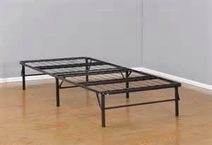 Folding Bed Frame And Mattress Size Metal Bi Fold Folding Platform Bed Frame Base