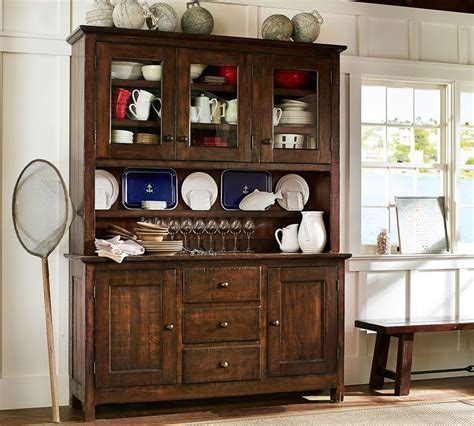 pottery barn china cabinet pottery barn benchwright buffet when i get a bigger house