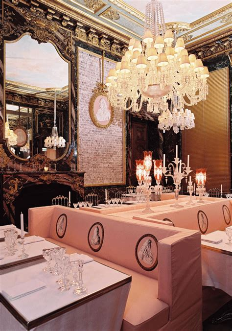 cristal room baccarat cristal room by baccarat and philippe starck carpe diem club