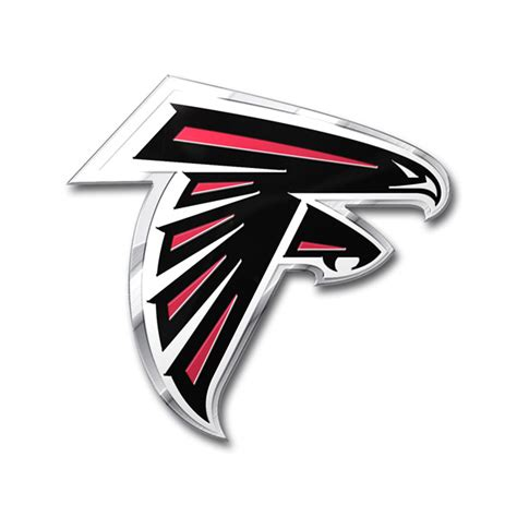 atlanta falcons colors atlanta falcons die cut color auto emblem