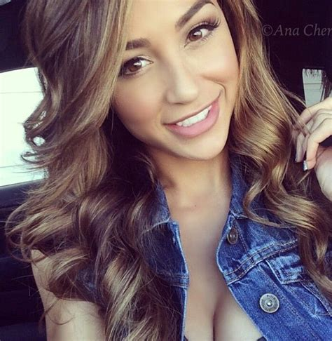 perfect hair color for latinas 36 best images about ana cheri on pinterest sexy pretty
