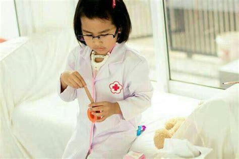 Kostum Anak Profesi Dokter jual baju profesi dokter ukuran xs s m kostum anak nuansa permai