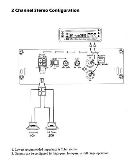 diagram dual xpr car amp wiring diagram full version