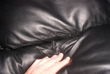 ripped leather couch furni tech