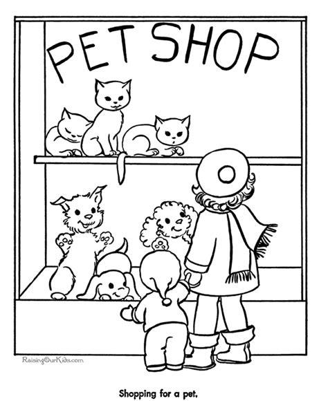 my little pet shop coloring pages