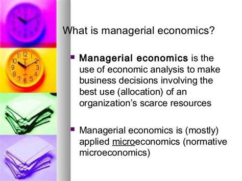 the economics of managerial decisions what s new in economics books managerial economics lecture 1 07