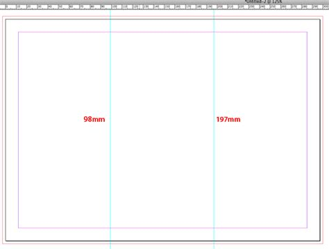 Quick Tip Creating A Tri Fold Template In Indesign Cs5 Trifold Size Template