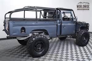 1984 land rover defender truck 110 turbo diesel custom