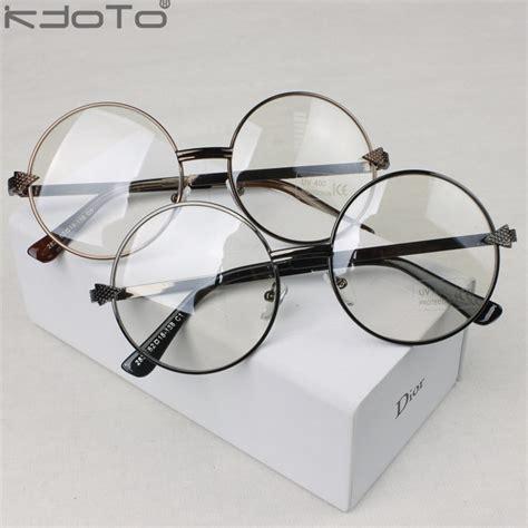 Kacamata Korean Vintage Classic Fashion Shape Frame Plain Glasses With Lens Brilliant Black eyeglass lens promotion shopping for promotional eyeglass lens on aliexpress