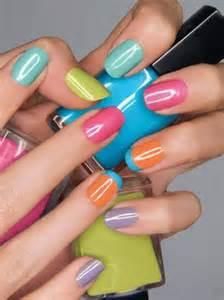 different color nails different color nails nails