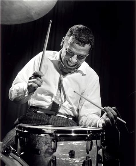 buddy rich, nyc, new york, 1954 | herman leonard