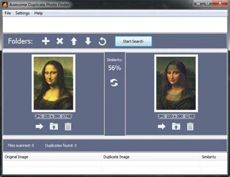 Picture Finder Comment Supprimer Des Photos En Logiciel De Recherche Doublon