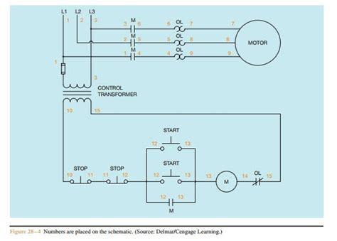 start stop wiring diagram  switch wiring diagram