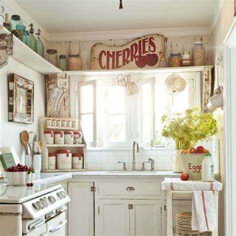Decor Kitchen Ideas everything is lovely into this tiny kitchen don t you think this