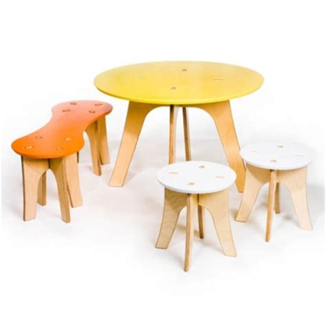 snap childrens play table and stools