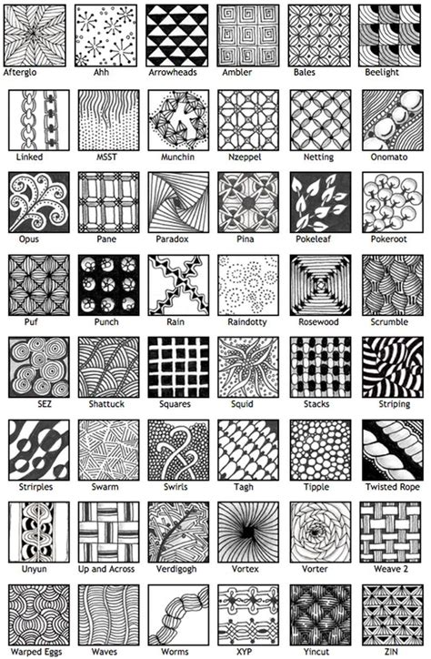 zentangle pattern bales patterns doodle zentangle doodles pinterest