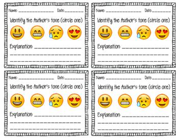 Literature Review Of Formative Assessment by Mood And Tone Analysis Using Emojis Exit Slip Formative Assessment Formative Assessment