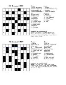 easy kids crossword puzzles kiddo shelter